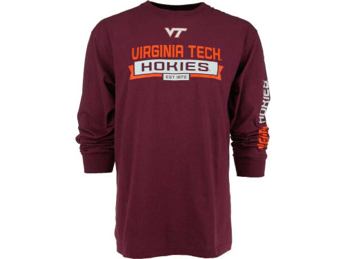 Virginia Tech Hokies Outerstuff NCAA Balanced Long Sleeve T-Shirt