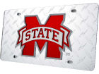Mississippi State Bulldogs Diamond Acrylic Laser Tag Auto Accessories