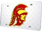 USC Trojans Diamond Acrylic Laser Tag Auto Accessories