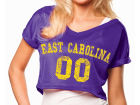 East Carolina Pirates NCAA Womens Crop Mesh Jersey Jerseys