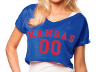 Kansas Jayhawks NCAA Womens Crop Mesh Jersey Jerseys