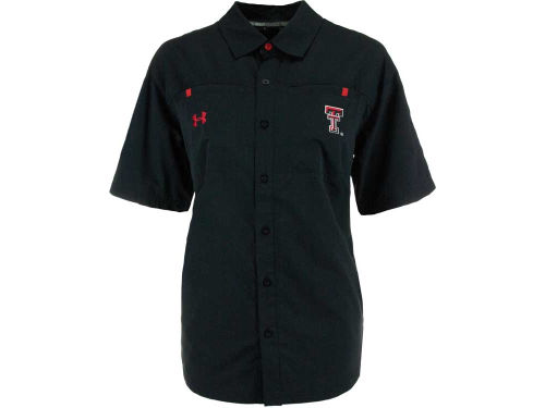 Texas Tech Red Raiders NCAA Womens Contender Button Down Shirt