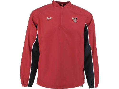 Texas Tech Red Raiders Under Armour NCAA 1/4 Zip Contender Cage Jacket