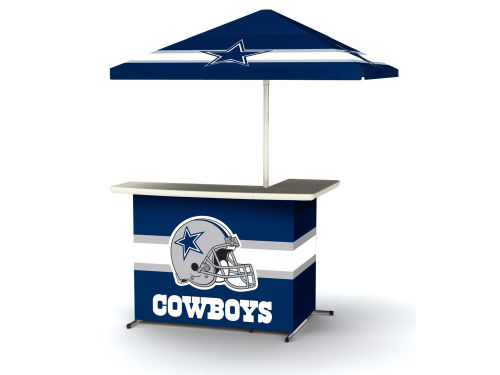 Dallas Cowboys Portable Bar System with Side Table