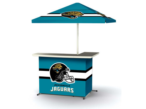 Jacksonville Jaguars Portable Bar System with Side Table