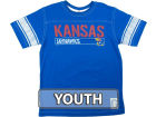 Kansas Jayhawks NCAA Youth Brett Jersey T-Shirt T-Shirts