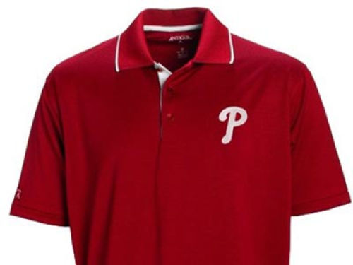 Philadelphia Phillies Antigua MLB Impact Polo