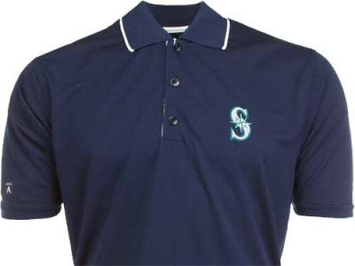 Seattle Mariners Antigua MLB Impact Polo