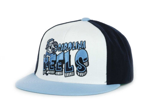 North Carolina Tar Heels Top of the World Wild Stylez Snapback Cap Hats