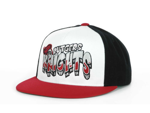 Rutgers Scarlet Knights Top of the World Wild Stylez Snapback Cap Hats
