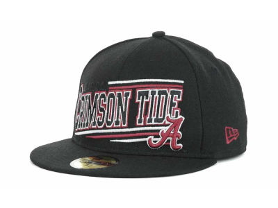 Alabama Crimson Tide NCAA Angular 59FIFTY Hats
