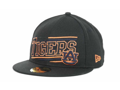 Auburn Tigers NCAA Angular 59FIFTY Hats