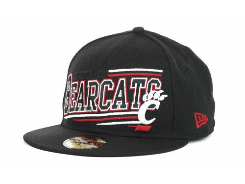 Cincinnati Bearcats New Era NCAA Angular 59FIFTY Hats