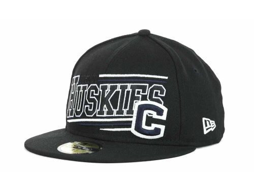 Connecticut Huskies New Era NCAA Angular 59FIFTY Hats