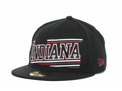 Indiana Hoosiers NCAA Angular 59FIFTY Hats