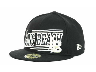 Long Beach State 49ers NCAA Angular 59FIFTY Hats