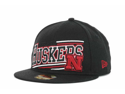 Nebraska Cornhuskers NCAA Angular 59FIFTY Hats
