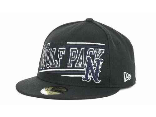 Nevada Wolf Pack New Era NCAA Angular 59FIFTY Hats