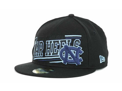 North Carolina Tar Heels NCAA Angular 59FIFTY Hats