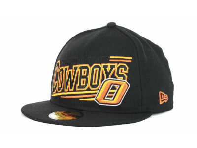 Oklahoma State Cowboys NCAA Angular 59FIFTY Hats