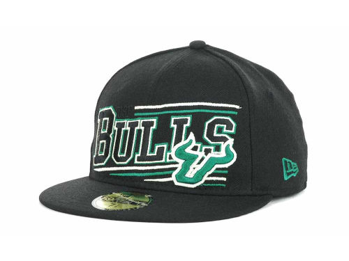 South Florida Bulls New Era NCAA Angular 59FIFTY Hats
