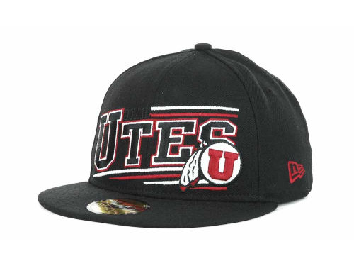 Utah Utes New Era NCAA Angular 59FIFTY Hats