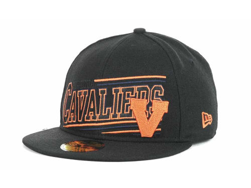 Virginia Cavaliers New Era NCAA Angular 59FIFTY Hats
