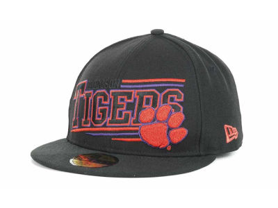 Clemson Tigers NCAA Angular 59FIFTY Hats