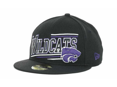 Kansas State Wildcats NCAA Angular 59FIFTY Hats