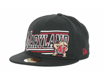 Maryland Terrapins NCAA Angular 59FIFTY Hats