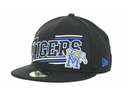 Memphis Tigers New Era NCAA Angular 59FIFTY Hats