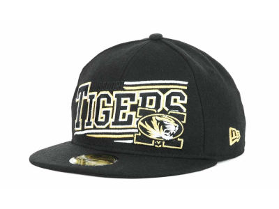 Missouri Tigers NCAA Angular 59FIFTY Hats