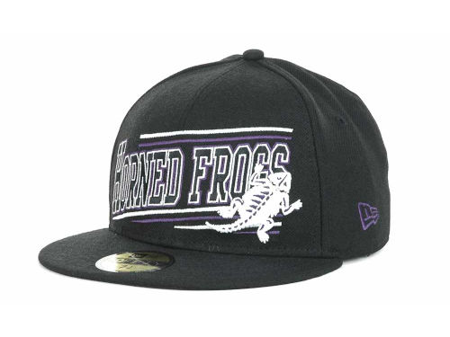 Texas Christian Horned Frogs New Era NCAA Angular 59FIFTY Hats