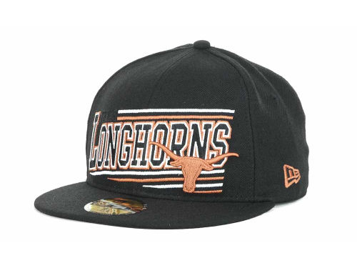 Texas Longhorns New Era NCAA Angular 59FIFTY Hats