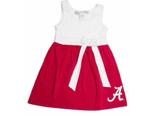 Alabama Crimson Tide NCAA Toddler Babydoll Bowtie Dress