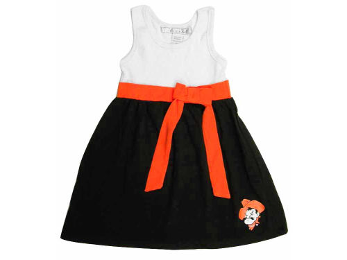 Oklahoma State Cowboys NCAA Girls Babydoll Bowtie Dress