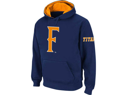 Cal State Fullerton Titans Colosseum NCAA Big Logo Hoodie