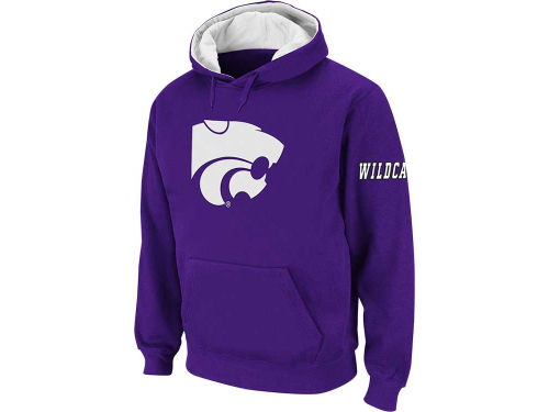 Kansas State Wildcats Colosseum NCAA Big Logo Hoody