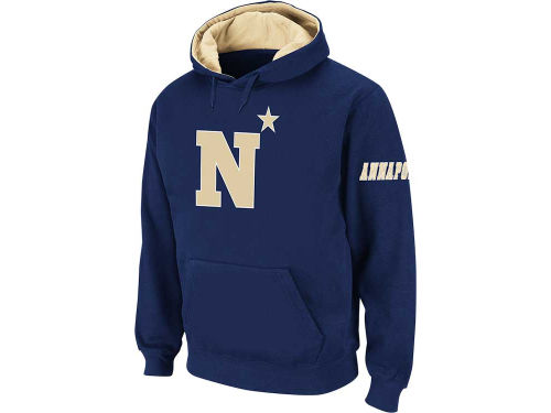 Navy Midshipmen Colosseum NCAA Big Logo Hoody