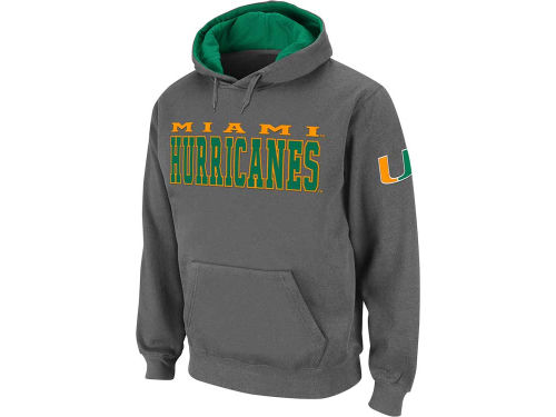 Miami Hurricanes Colosseum NCAA Team Stack Hoodie