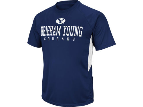 Brigham Young Cougars Colosseum NCAA Mako T-Shirt