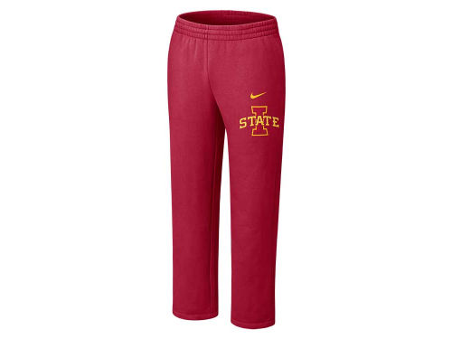 Iowa State Cyclones Nike NCAA Classic Fleece Open Hem Pant