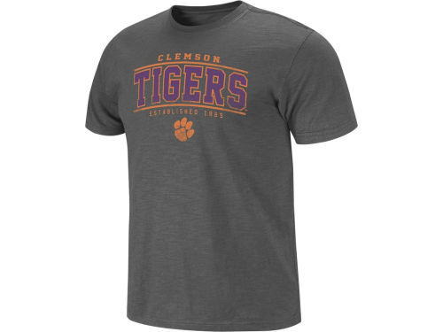 Clemson Tigers Colosseum NCAA Hawk T-Shirt