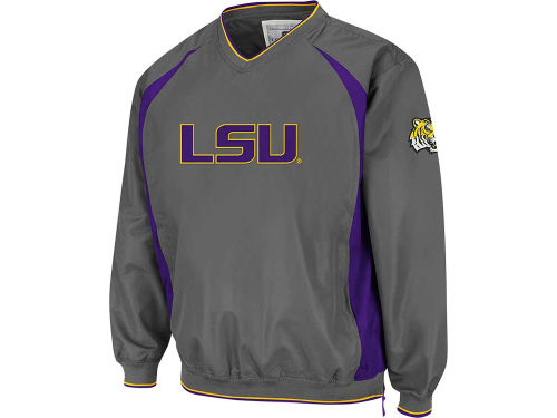 LSU Tigers Colosseum NCAA Hardball Pullover Jacket
