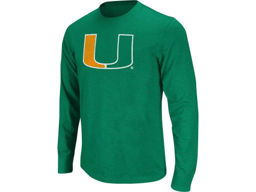 Miami Hurricanes Colosseum NCAA Touchdown Long Sleeve T-Shirt