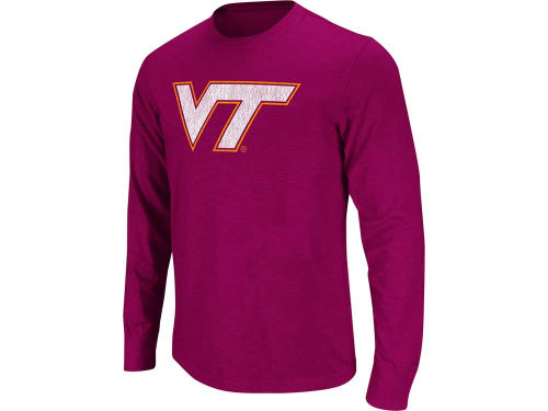Virginia Tech Hokies Colosseum NCAA Touchdown Long Sleeve T-Shirt