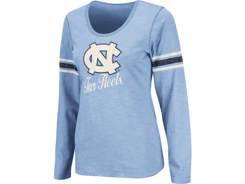 North Carolina Tar Heels Colosseum NCAA Womens Mako II Long Sleeve T-Shirt