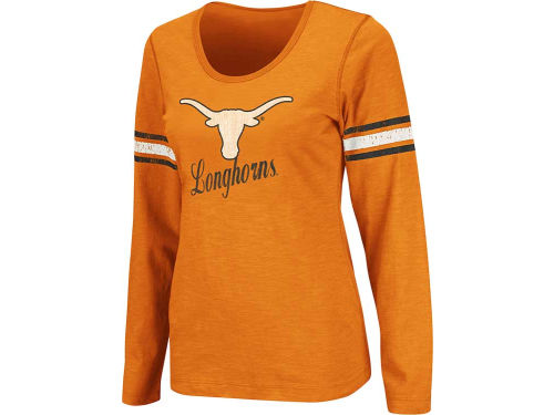 Texas Longhorns Colosseum NCAA Womens Mako II Long Sleeve T-Shirt