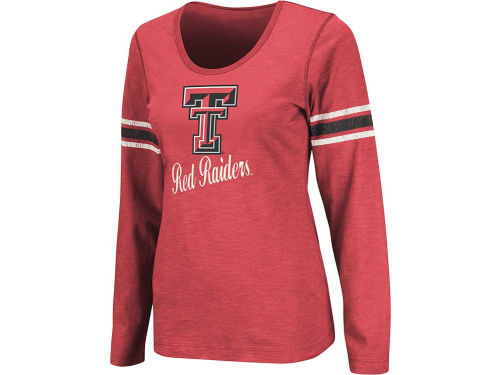 Texas Tech Red Raiders Colosseum NCAA Womens Mako II Long Sleeve T-Shirt