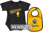 Missouri Tigers Colosseum NCAA Newborn Dribble Creeper Bib Set Infant Apparel
